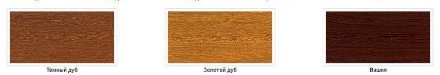 варианты деревянного полотна секционных ворот