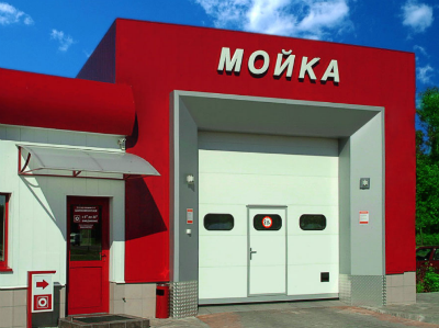 ворота для автомоек