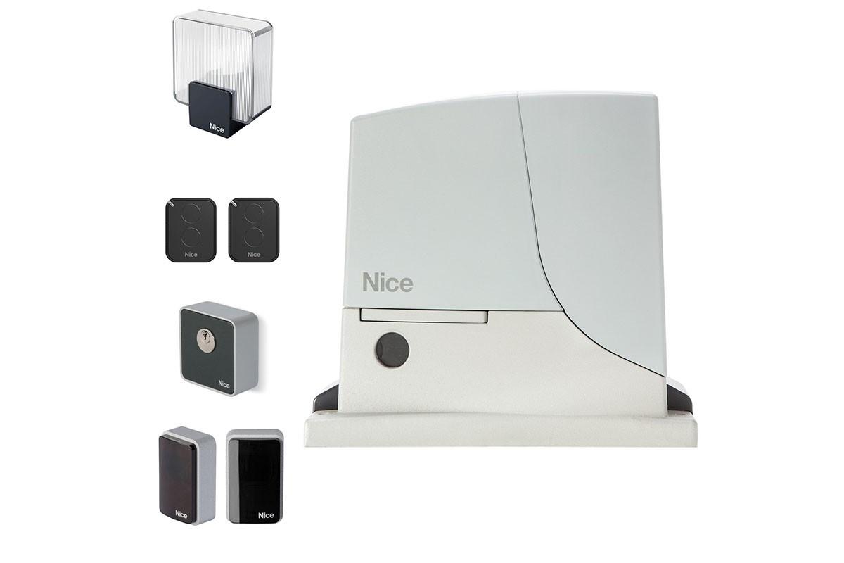 комплект автоматики для откатных ворот Nice ROX600 kce